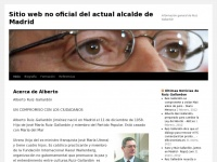 Sitio web no oficial del actual alcalde de Madrid | Información general de Ruiz Gallardón