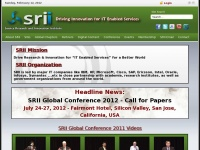 """Thesrii.org - Service Research and Innovation Institute - """"Driving Innovation for IT Enabled Services"""""""
