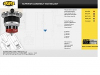 AGME. Automated assembly machines. Riveting machines. Special purpose machines