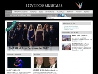 love for musicals -