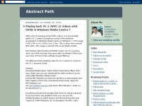 Abstractpath.com - AbstractPath – thoughts from @tumtumtum