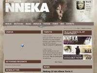 The Official Nneka Site