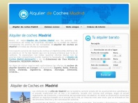 alquilerdecoches-madrid.es Thumbnail