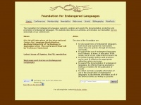 Ogmios.org - Foundation For Endangered Languages - Home