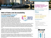 W4a.info - The 14th International Web for All Conference – Addressing information barriers