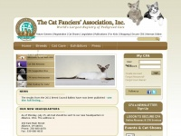 Cfainc.org - The Cat Fanciers' Association - The World's Largest Registry for Pedigreed Cats