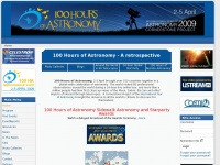 100hoursofastronomy.org - Welcome to 100 Hours of Astronomy