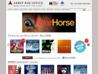 Abbeyboxoffice.co.uk - Abbey Box Office :: Book Online For London Theatre Tickets, West End Musicals And London Shows