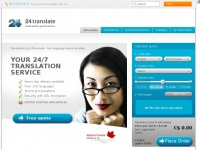 24translate.ca - Translations by 24translate - Your language service provider - 24translate