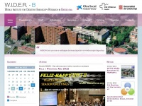 Wider-barcelona.org - W.I.D.E.R. - World Institute for Digestive Endoscopy Research in Barcelona - index