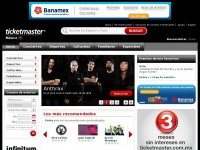 ticketmaster.com.mx Thumbnail