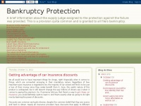 Bankruptcy Protection