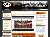 Welcome to WarCriminalsWatch.org