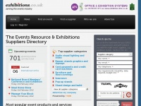 Exhibitions.co.uk - The Events Resource & Exhibitions Suppliers Directory |