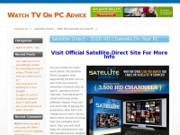 Watchtvonpc-advice.net - Watch TV On PC Guide: Thousands Of Channels. Must See !