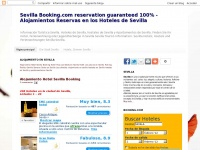 Seville bookings hotels and accommodation. Bookings hotels and bookings hostels in Sevilla, Spain. Bookings Apartments in Seville.