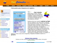 Chat de Colombia gratis sin registro