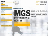 MGS International Routes |