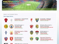 Watchliveonline.co.uk - Watch Live Football Online. For Free.