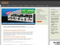 Roland Systems Group , Audio e Video Profissional