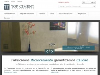 Microcemento Topciment