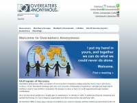 Oa.org - Newcomers - Overeaters Anonymous