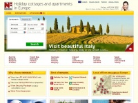 Holiday rentals in Italy, Croatia, France, Spain and 23 other countries