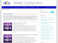 Newscentralasia.net - News Central Asia (nCa) - The Voice of Greater Central Asia