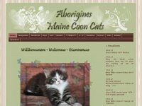 Aborigine-coons.de - Aborigines Maine Coon Cats