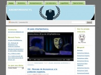 anonymouscyl | Just another WordPress.com site