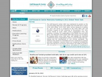 Grc.ae - Gulf Research Center - Home Page