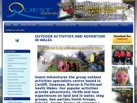 Quest-adventures.co.uk - Outdoor Activities - Gorge Walking, Coasteering, Canyoning & more - in Cardiff and across South Wales | Quest Adventures