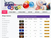 Edenonlinebingo.co.uk - Eden Online Bingo: Games of Bingo, Online Bingo Reviews, Best Bingo Casino Guide