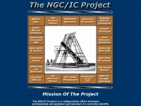 Ngcicproject.org - The NGC / IC Project - Home of the Historically Corrected New General Catalogue (HCNGC) since 1993