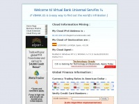 Online Currency Exchange Rates - Welcome to Virtual Bank Universal Services (VBANK.US)