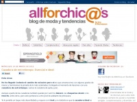 All for CHIC @'s - Blog de moda y tendencias