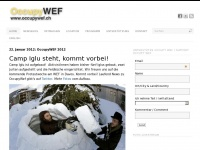 Occupywef.ch - Account Suspended