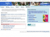 Hefce.ac.uk - Home - Higher Education Funding Council for England