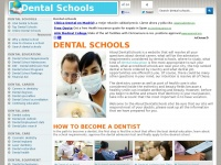 Aboutdentalschools.com - Dental schools, information about dental care and dentist salary