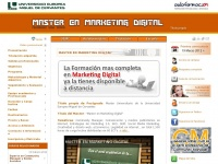 Master online en Marketing Digital | Community Manager | Aulaformacion y UEMC | inicio