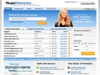 HugeDomains.com - Shop for over 350,000 Premium Domains