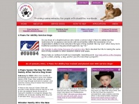 4pawsforability.org - Providing Service Dogs to Children Worldwide | 4 Paws for Ability