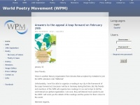 Wpm2011.org - World Poetry Movement