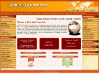 Wsfindia.org - Home | World Social Forum | India