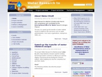 Waterrtom.org - e-fair facility | Water Research to Market
