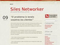 Siles Networker | Business Development, Social Media Manager and Event Organizer
