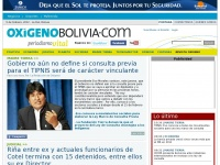 Oxigenobolivia.com - Account Suspended