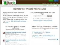 Aboutus.org - About Us - Tell the world about it!