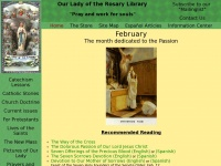 Olrl.org - Our Lady of the Rosary Library Traditional Catholic Homepage