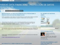 HÁBEAS DATA FINANCIERO - PROTECCIÓN DE DATOS